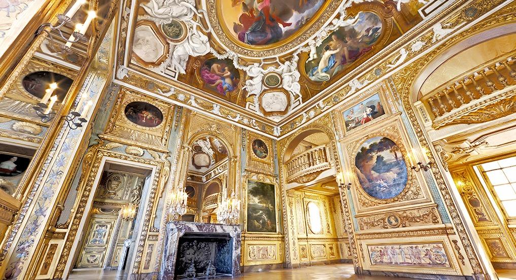 Boiserie salon de musique louis XIV