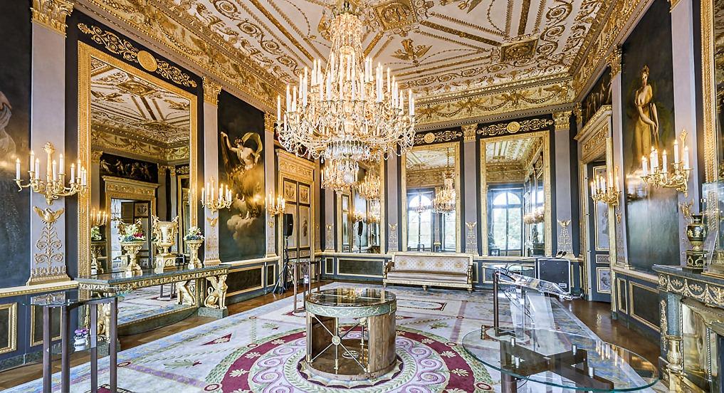 Ambassade Allemagne salon quatre saisons boiserie Napoléon III