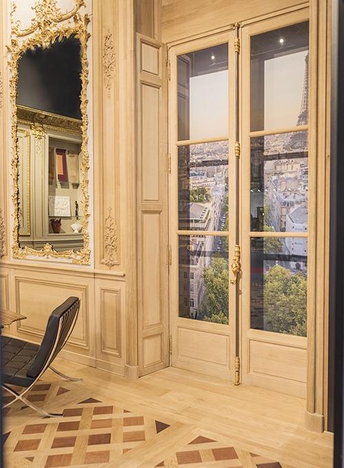 Boiserie sculptée Louis XV dorée