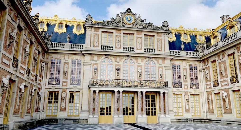 Versailles cours de marbre