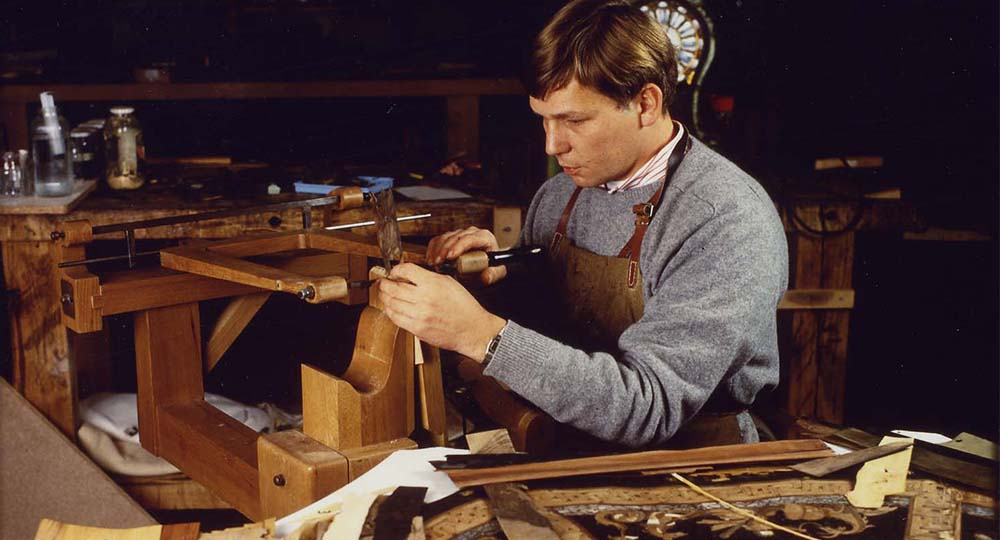 Marquetterie bois précieux